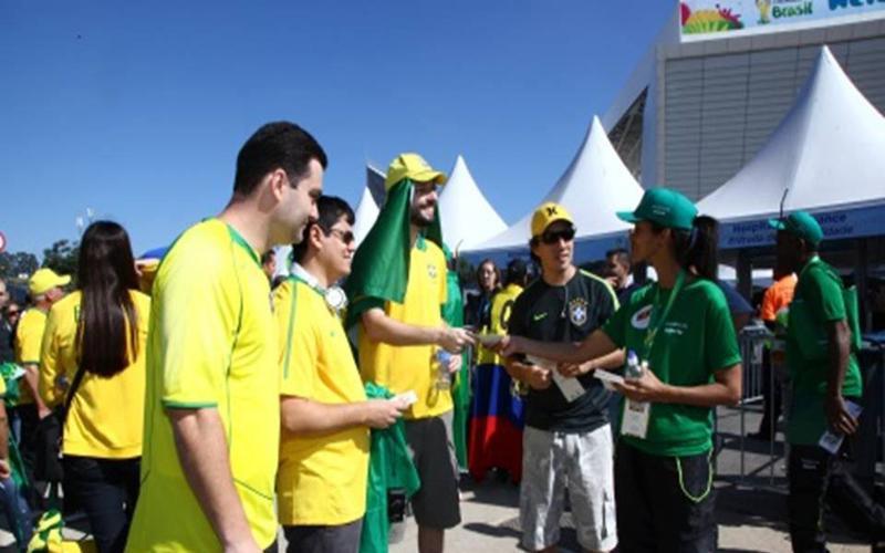 Manos mormonas en mundial Brasil