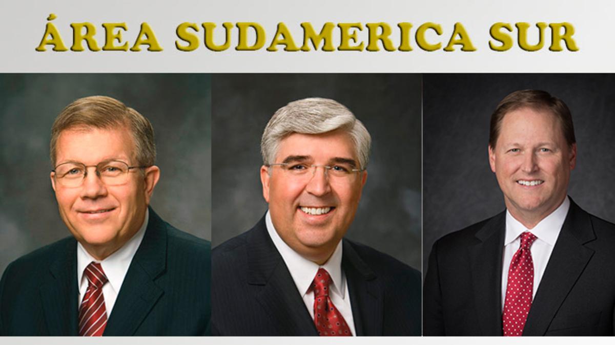 Cambios en la Presidencia del Área Sudamérica Sur