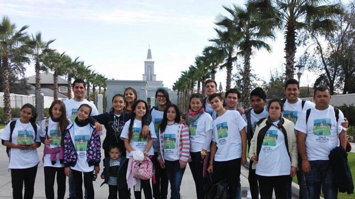 """Los 25 kilómetros para """"seguir adelante con fe en Cristo"""""""