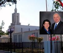 Gerardo J. Wilhelm llamado como presidente del templo de Santiago