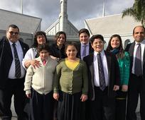 Distrito Rio Gallegos en el templo
