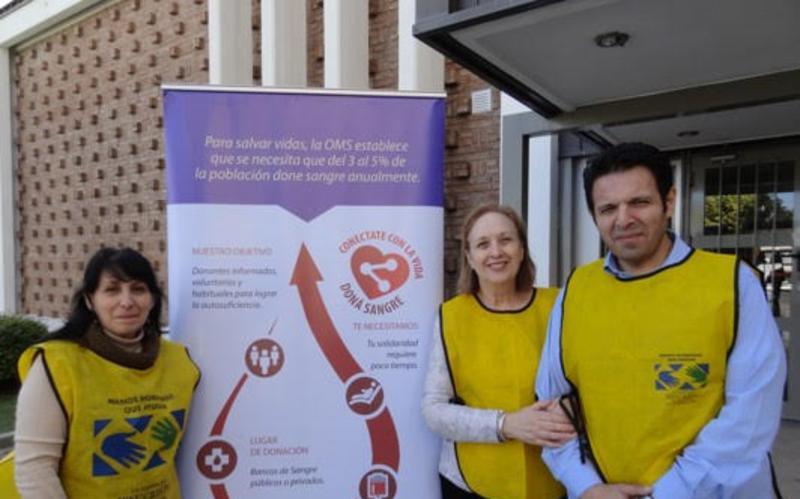 Donacion de sangre en Alta Cordoba