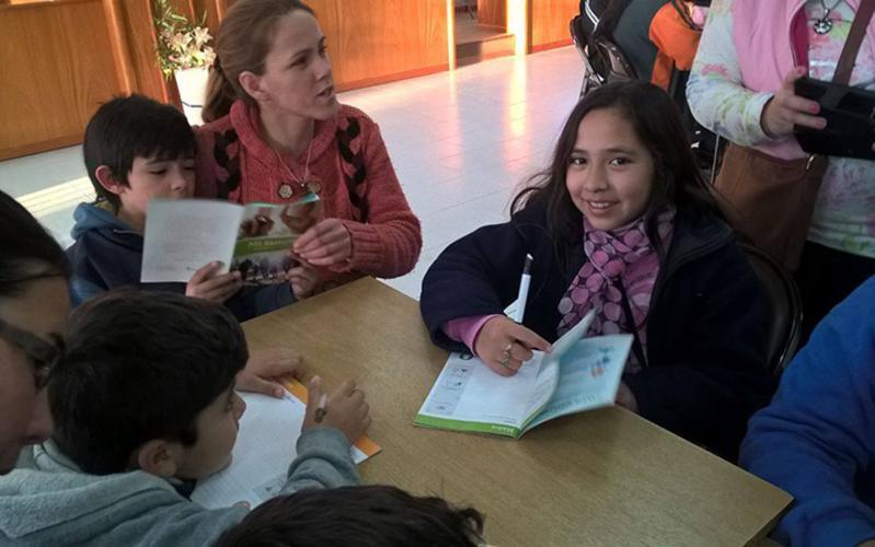 Valientes de Santiago del Estero trabajan con el Plan del Area