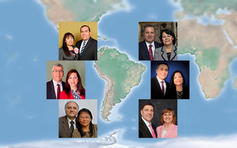Nuevos presidentes de mision del Area 2016