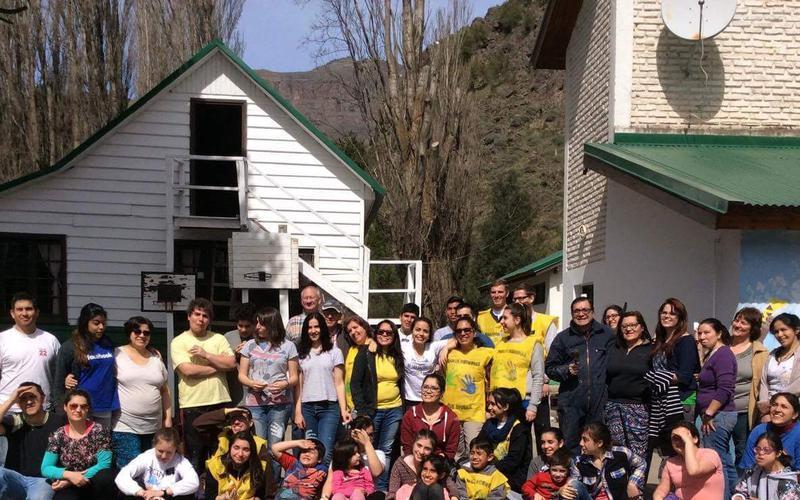 Rama San Martin de los Andes en actividad de servicio