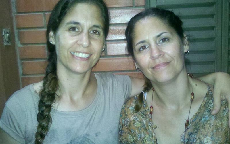 Gabriela y Carolina