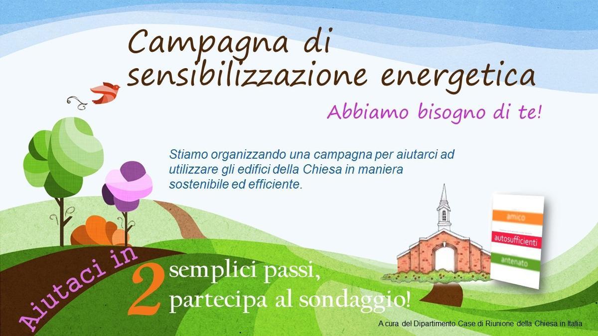 Campagna di sensibilizzazione energetica