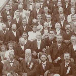 Circa 1900. (Church History Library, Salt Lake City.)