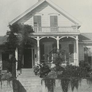 George Q. Cannon died in this home on 12 April 1901. The photograph dates from circa 1918–1945. (Church History Library, Salt Lake City.  Photograph by S. E. Moore.)