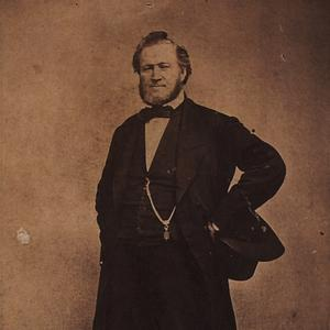 1866. In 1867 church president Brigham Young called for the reestablishment of the Relief Society in local wards, later appointing his plural wife Eliza R. Snow to oversee that effort. Photograph by the studio of Savage and Ottinger. (Church History Library, Salt Lake City.)