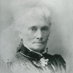 Sarah Kimball was a prominent presence in Relief Society from its inception in Nauvoo until after its Jubilee celebration. (Church History Library, Salt Lake City.)