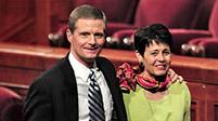 Elder Bednar und seine Frau