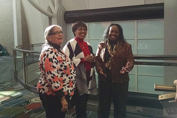 Shelley Murphy, Bernice Bennett, Angela Walton-Raji