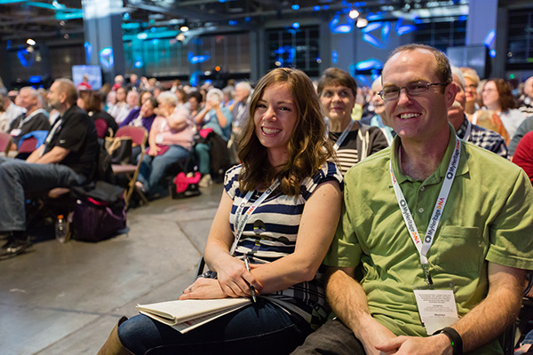 Couple at RootsTech
