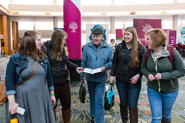 People at RootsTech