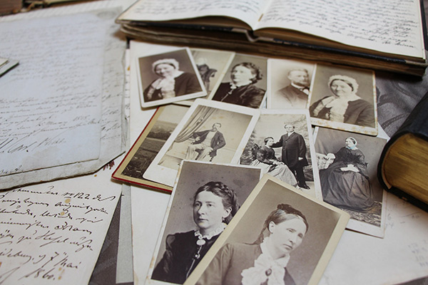 Old photos and journals