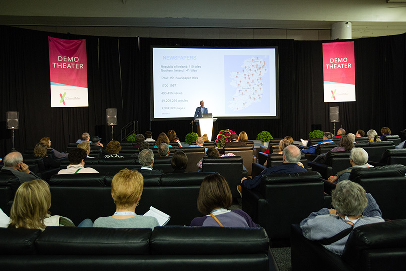 Demo Theater at RootsTech