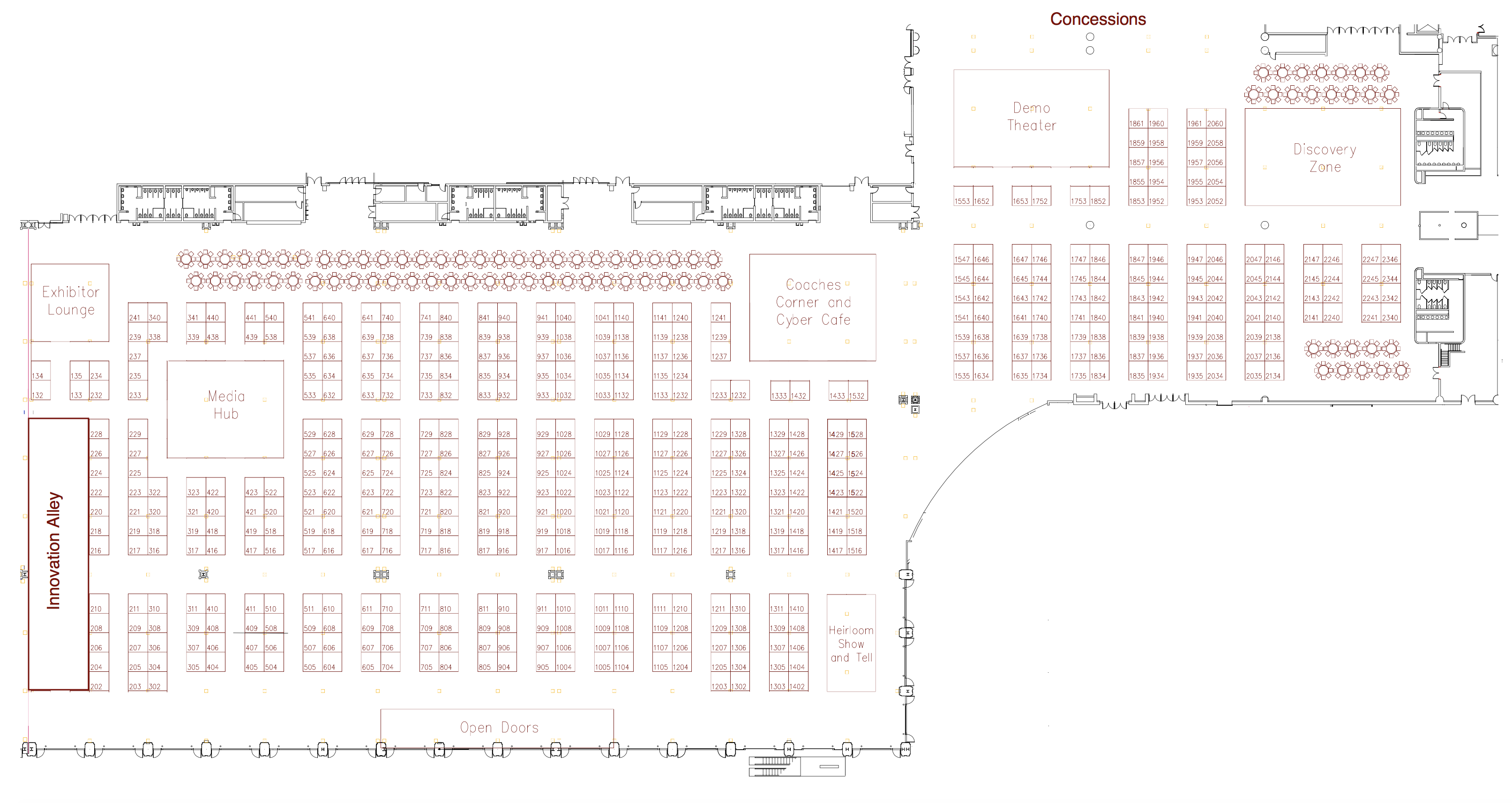 Expo Hall Map