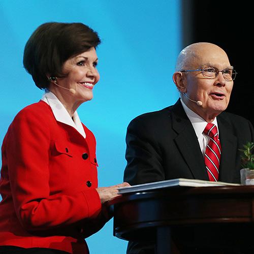 President and Sister Oaks