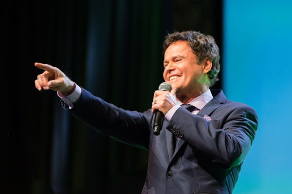 Donny Osmond at RootsTech