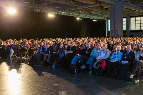 Audience Listening at RootsTech Session
