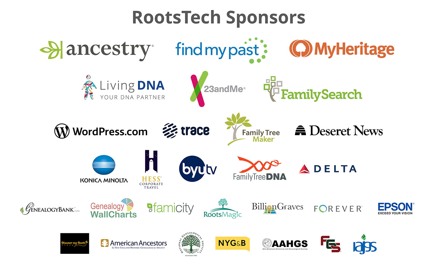 RootsTech Sponsors