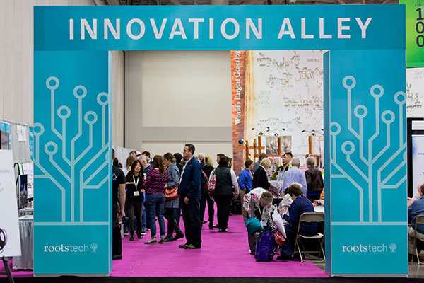 Innovation Alley Archway at the Innovator Summit