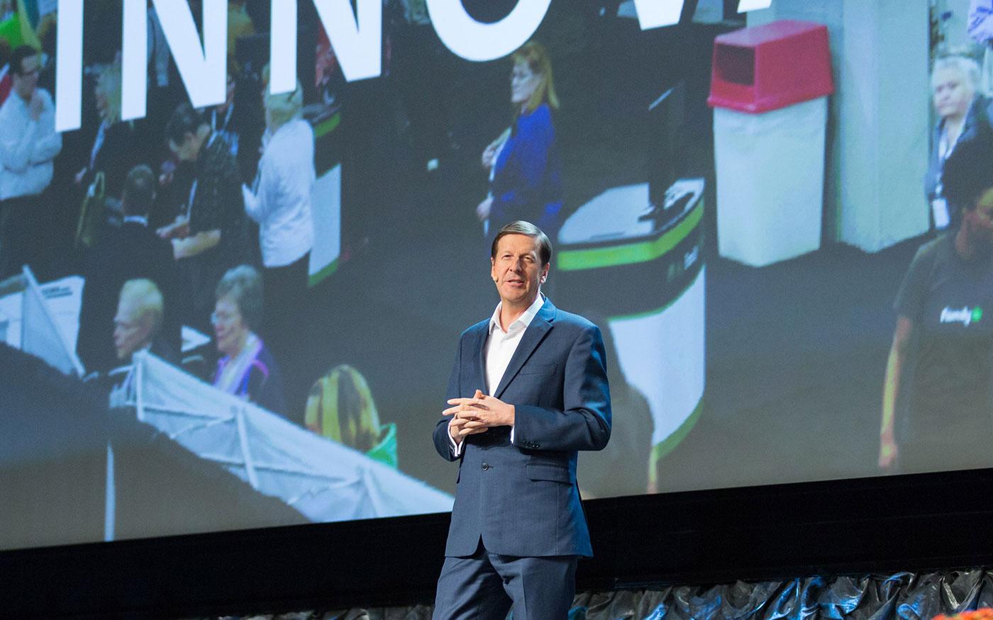 Steve Rockwood at the Innovator Summit