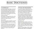 Basic Doctrines