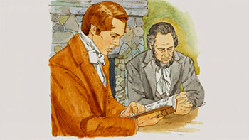 Joseph Smith and Sidney Rigdon