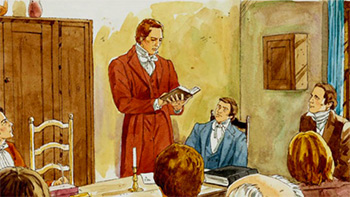 Illustration of Joseph Smith