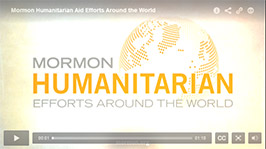 Video Screenshot for Mormon Humanitarian Aid Efforts Around the World video