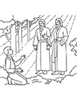 Illustration of Joseph Smith and Heavenly Father and Jesus Christ