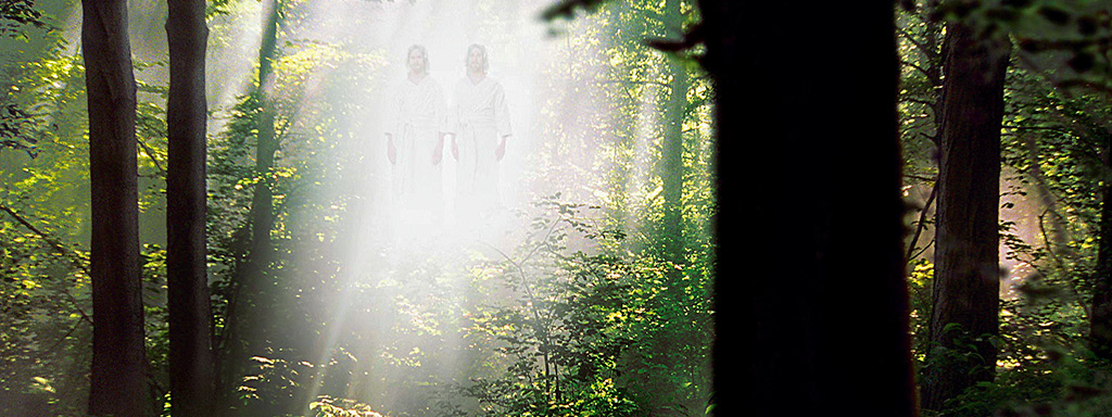 Heavenly Father and Jesus visiting Joseph Smith