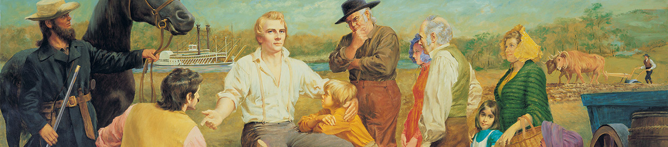 Joseph Smith and people