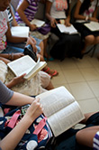 Youth Reading Scriptures
