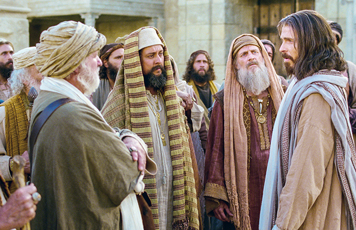 Savior with the Pharisees