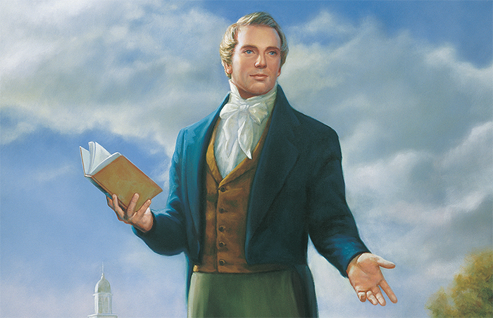Prophet Joseph Smith painting