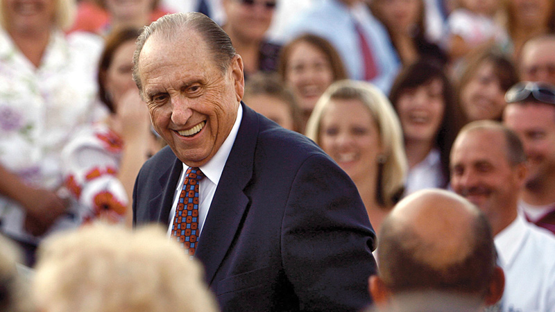 President Monson at General Conference