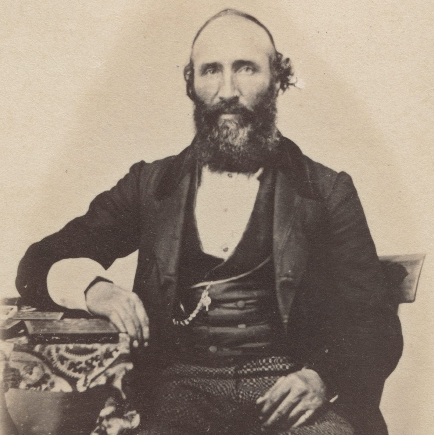 Howard Egan in 1865