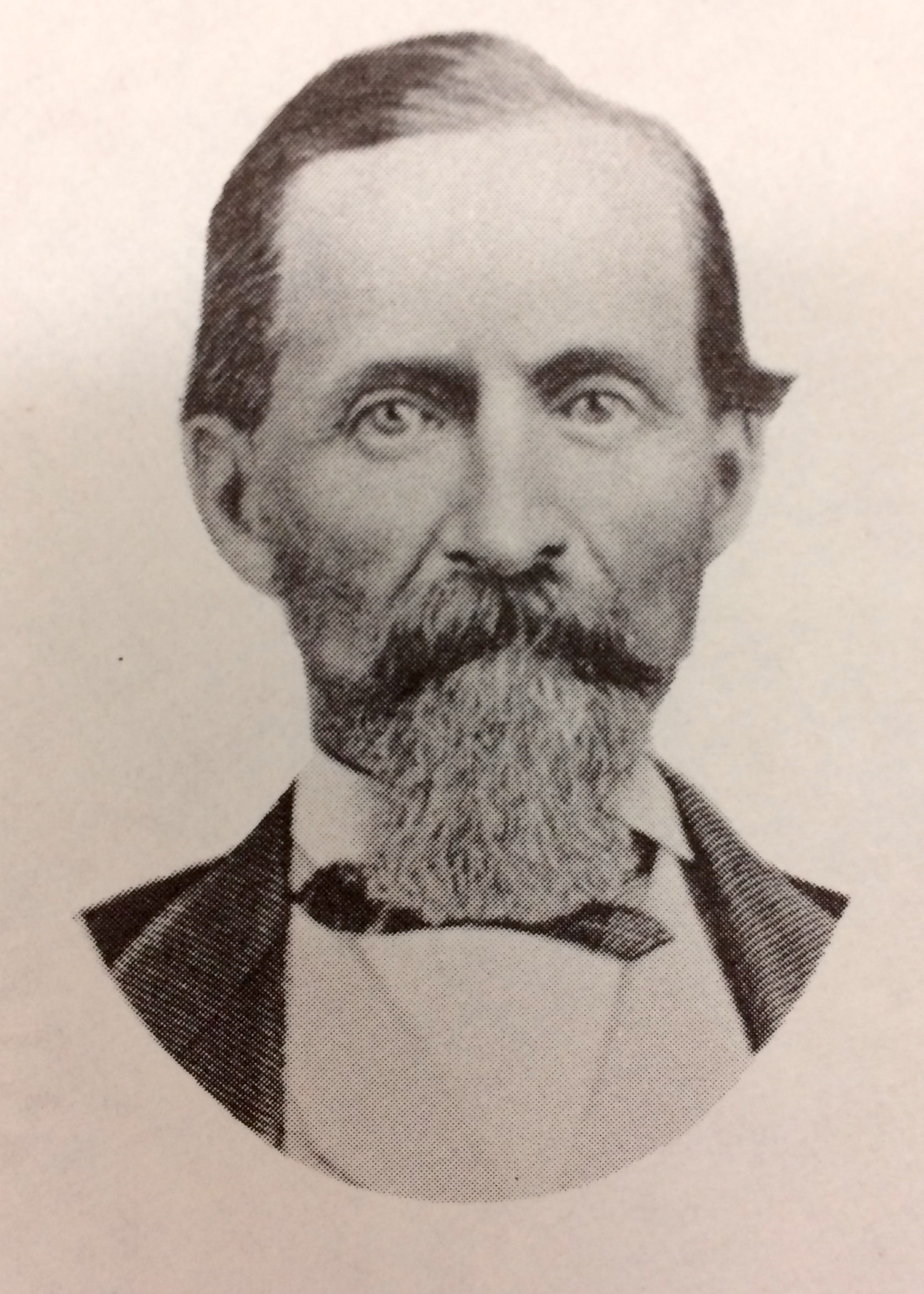 William Hyde in about 1870