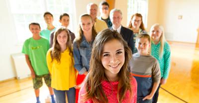 Группа студентов семинарии