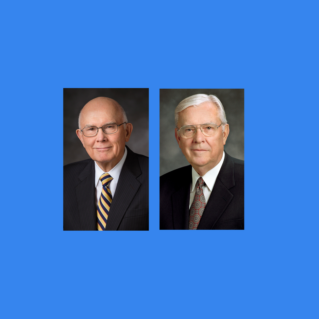 Elder Dallin H. Oaks and Elder M. Russell Ballard