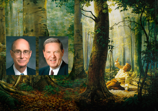 Face to Face with President Eyring and Elder Holland