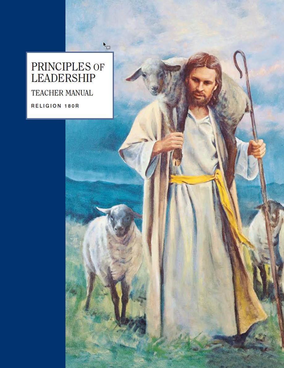 Principles of Leadership Teacher Manual (Rel 180R)