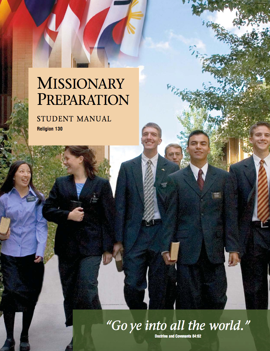 Missionary Preparation Student Manual (Rel 130)