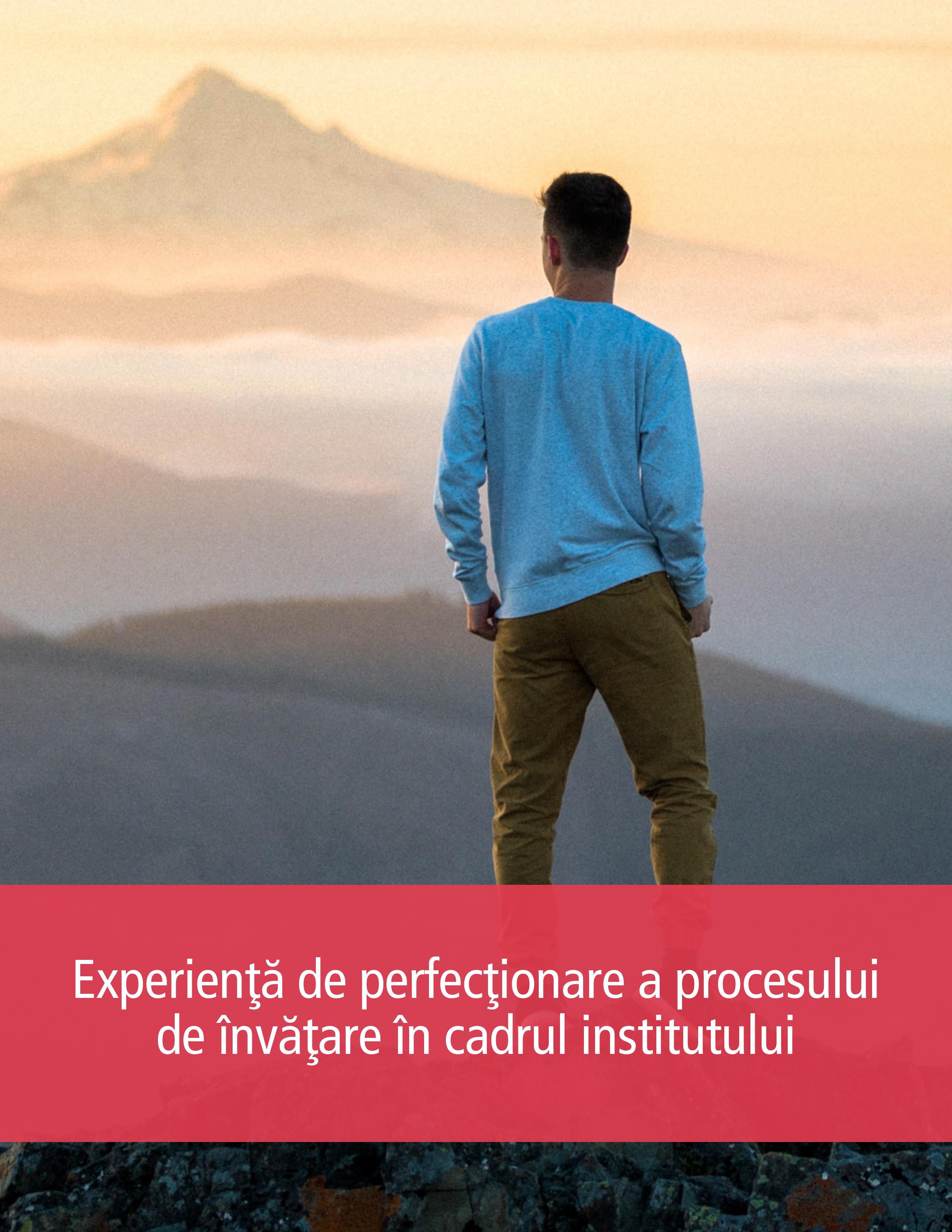 Experienţă de perfecţionare a procesului de învăţare în cadrul institutului