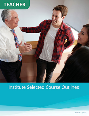 Institute Selected Course Outlines