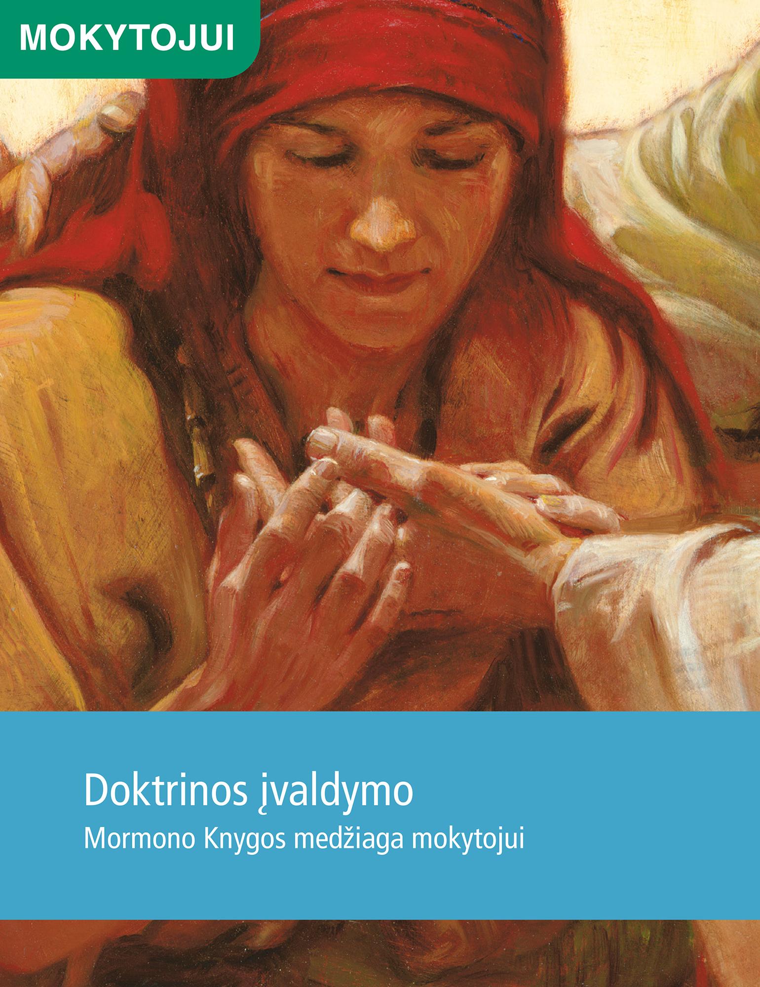 Doktrinos įvaldymo Mormono Knygos medžiaga mokytojui
