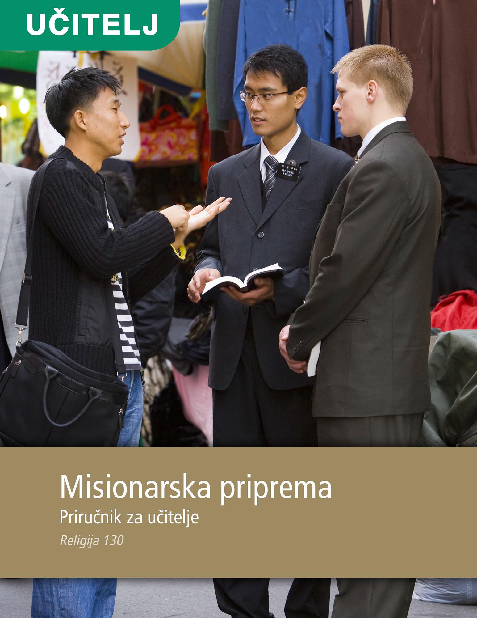 Misionarska priprema – priručnik za učitelje (Rel 130)